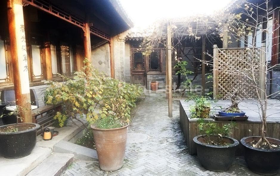 Dongsi Courtyard,3Br. 300sqm RMB50000